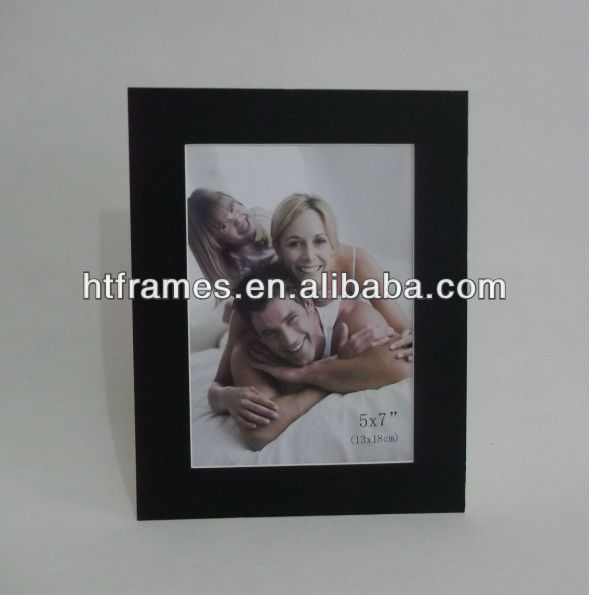 Acid free recycled cardboard picture frame for wholesale 4x6 5x7