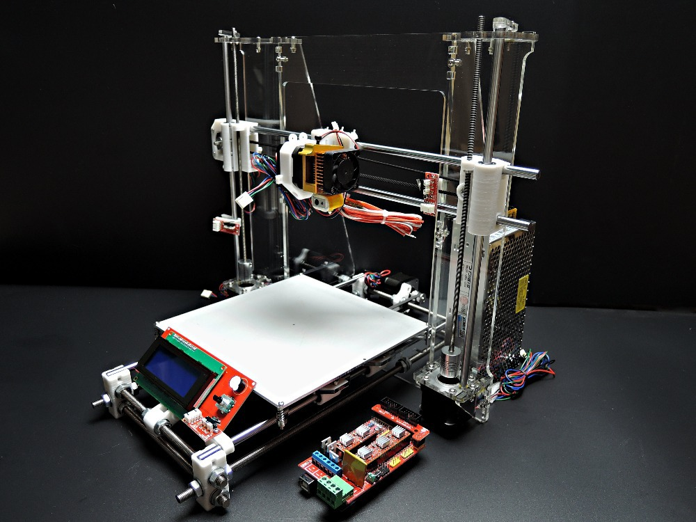 SINTRON] High Accuracy DIY 3D Printer Kit for Reprap Prusa i3,MK3