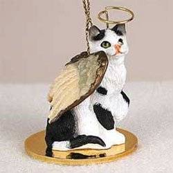 get quotations christmas ornament black and white cat - Black Cat Christmas Ornament