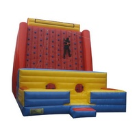 Commercial Inflatable Rockwall Climbing Mountain Inflatable Climbing Wall Exciting Outdoor Sport Games