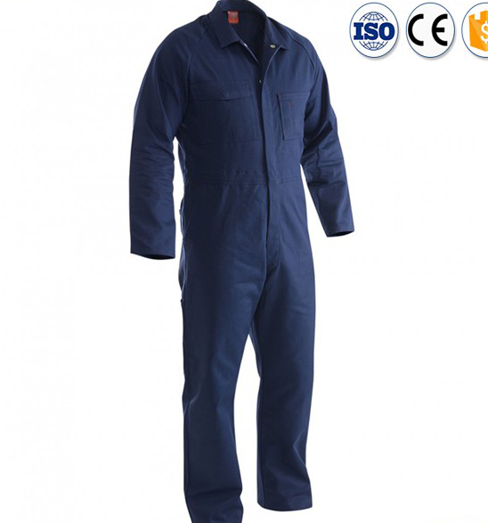 Homme snap avant Poly/coton orange construction industrielle travail uniforme/vêtements de travail