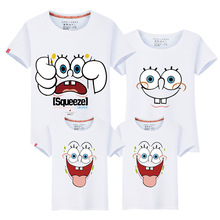HT-PCC 2017 hot new design parent child t shirt, fancy wholesale couple t shirt, high quality custom family t shirt printing