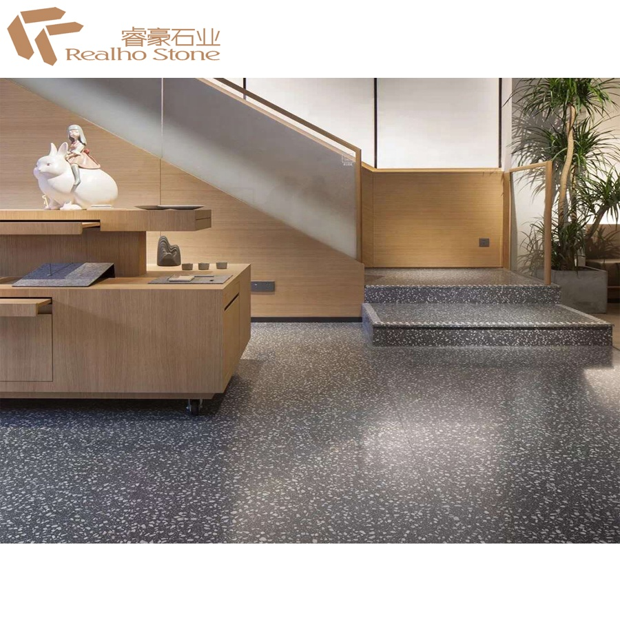 Grey Cement Terrazzo Stone For Flooring Decoration Cost Buy Terrazzo Flooring Terrazzo Stone Terrazzo Flooring Cost Product On Alibaba Com