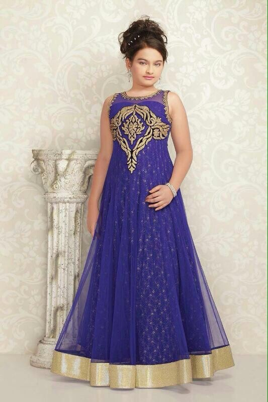 Gowns For Indian Wedding For Kids - Buy Indian Gowns For Girls ...