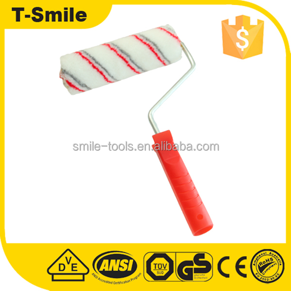 Wall decoration soft paint roller brush design