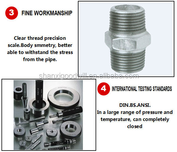 Malleable steel pipe fitting dimensions union buy