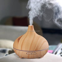 Essential Oil Ultrasonic Diffuser & Humidifier 300mL with LED, Cool Mist, Whisper Quiet, Green Scented Essential Oil Fragrance S