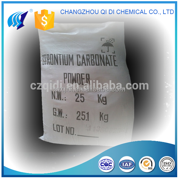 Strontium Carbonate 99.5%min Industry Grade