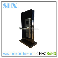 13.56MHz RFID Zinc Alloy and Stainless steel Free Software Smart Card Hotel Room Card Key Lock System