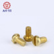 M4 M6 M8 Slotted Pan Head Brass Copper Fitting Part Machine Screw