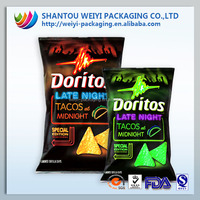 cookies bags packaging material/side gussets cookies bags/plastic biscuit printed bags