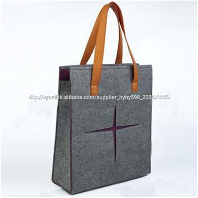 bolso fieltro personalizado para las señoras bolso de mano de CqRCBx1
