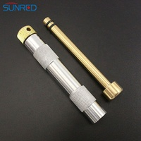 Camping Survival Outdoor Tools Outdoor Emergency Fire Tube Brass Metal Fire Piston