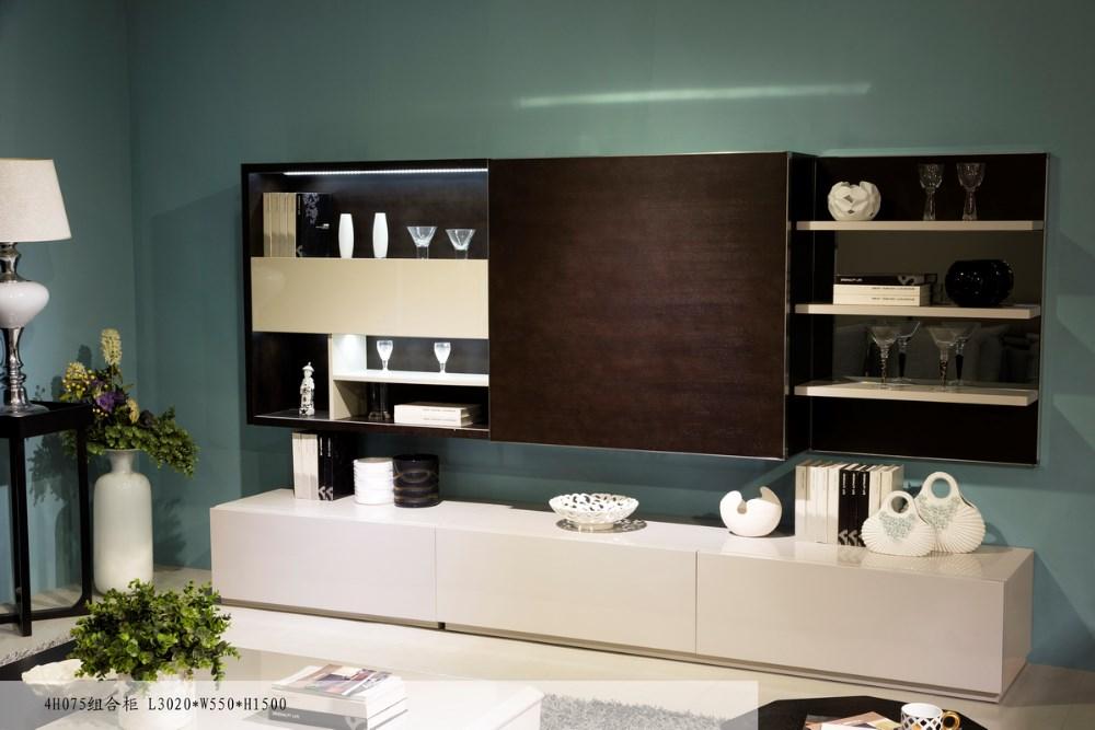 modern led tv parts tv unit design wooden furniture showcase sliding door cabinet