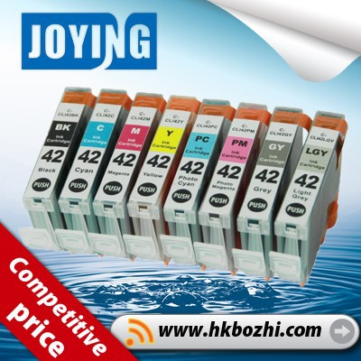 product gs compatible canon pixma pro  printer cli ink cartridge with chip