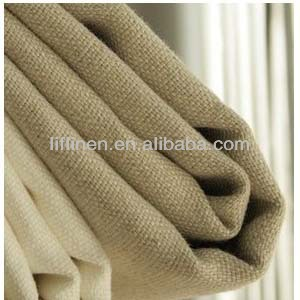 Heavy Natural Off White Linen Upholstery Fabric