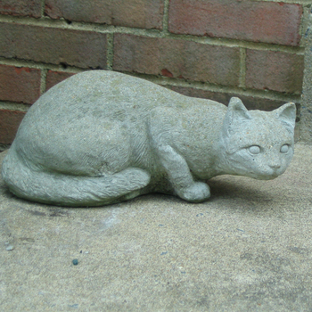 Cheap And Best Life Size Granite Cat Gray Cat Statue For Garden Or Home  Decoration