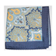 polyester tie and pocket square printing men cotton handkerchief mixed colours hanky DPS4328
