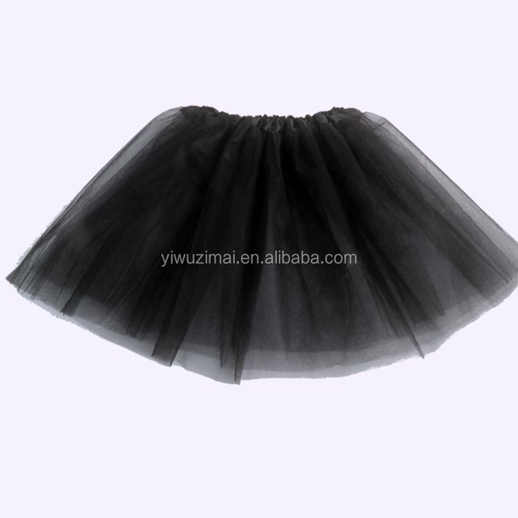 d58125d811af Hilo negro Tutu barato danza adultos Ballet Falda corta del vestido de las mujeres  mini falda