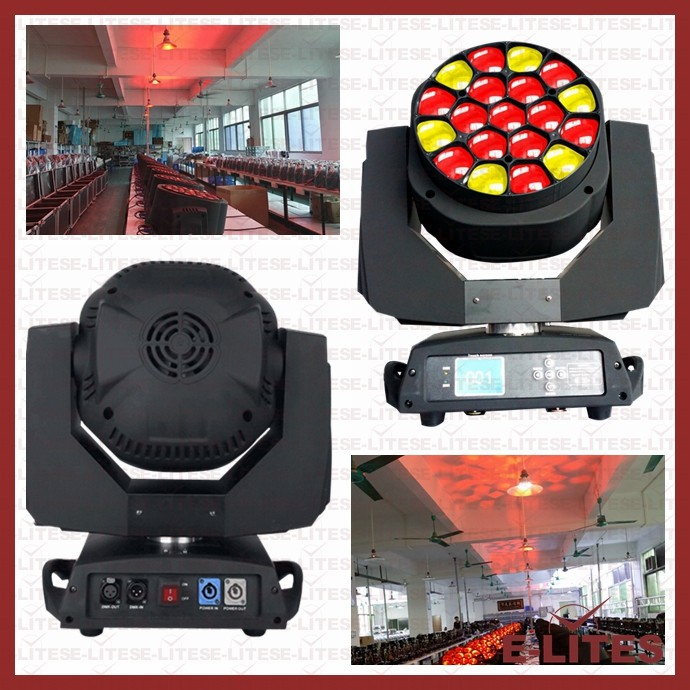Led head verlichting/made in china moving head led/gobo projector/disco verlichting gif/19 moving hoofd