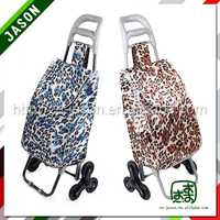 hand cart,supermarket trolley wire mesh metallic small shopping trolley
