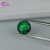 Green lab created round cabochon opal gemstone with cheap price