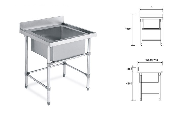 Factory Wholesale High Quality Kitchen Stainless Steel