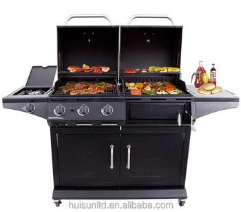Bbq Cabinet Liquid Propane Gas Grill Charcoal Black
