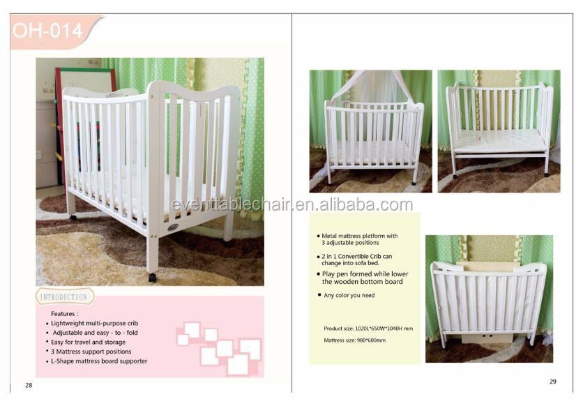 Baby Cribs Lock Portable Baby Crib Baby Crib New Style
