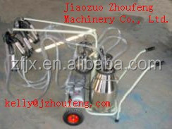 Hand Operated Electric Single Cow Portable Milking Machine with CE Certificate for Cows/Goats