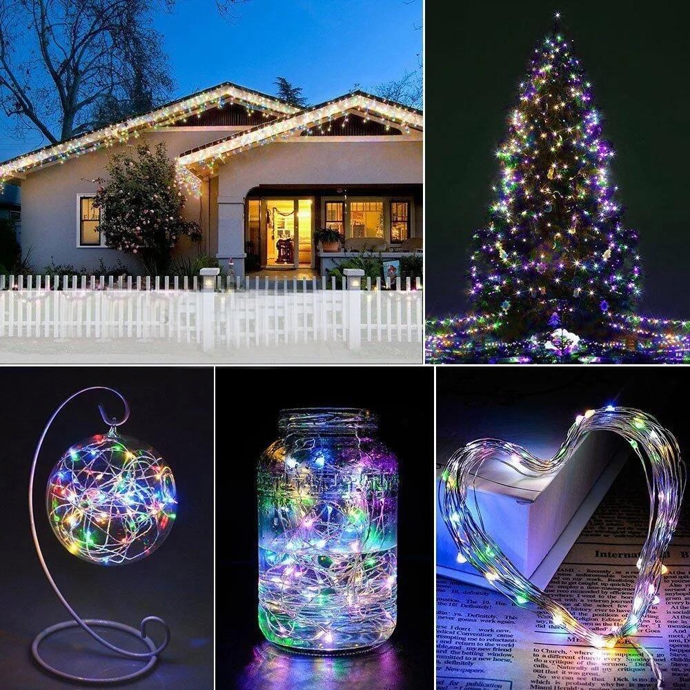 Fairy String Lights 1m 10leds Cr2032