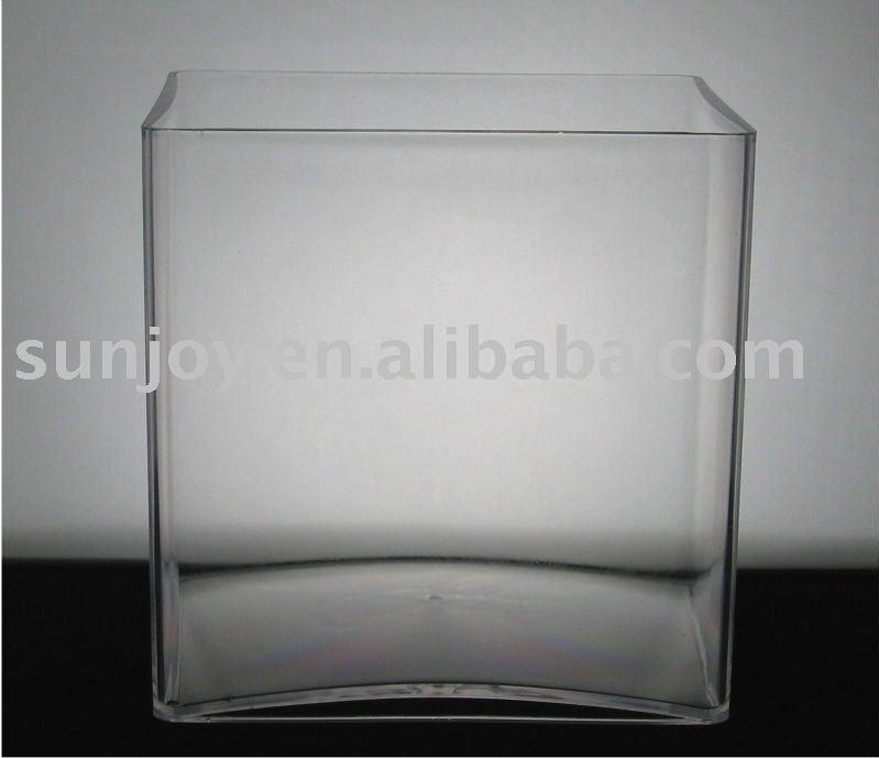 Clear Cube Vaseplastic Flower Vase Wholesale Buy Flower Vase