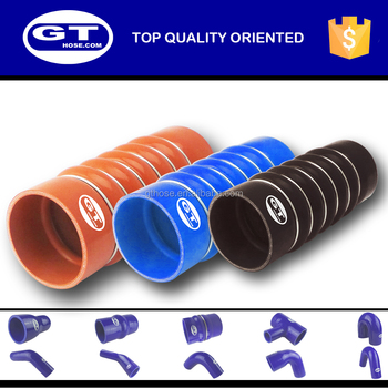 5 bellow 6 rings silicone hose