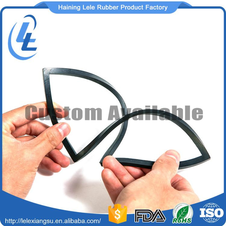 Factory O-Ring Food Grade Silicone Gasket Wardrobe Door Rubber Seal