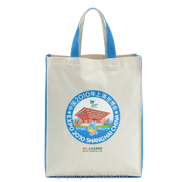 extra large tnt material reuseable textile shopping bag