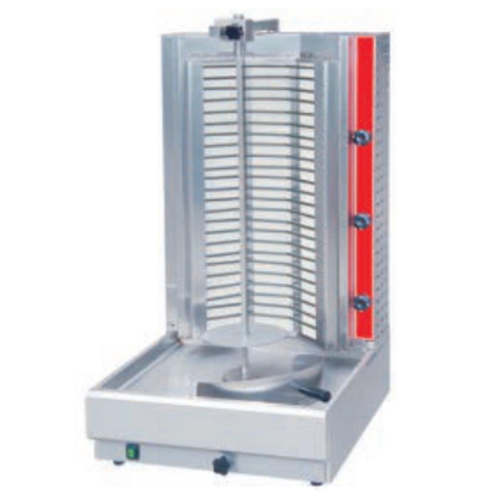 Roestvrij Staal Commerciële Shawamar Gas Doner Kebab Grill Machine Prijs