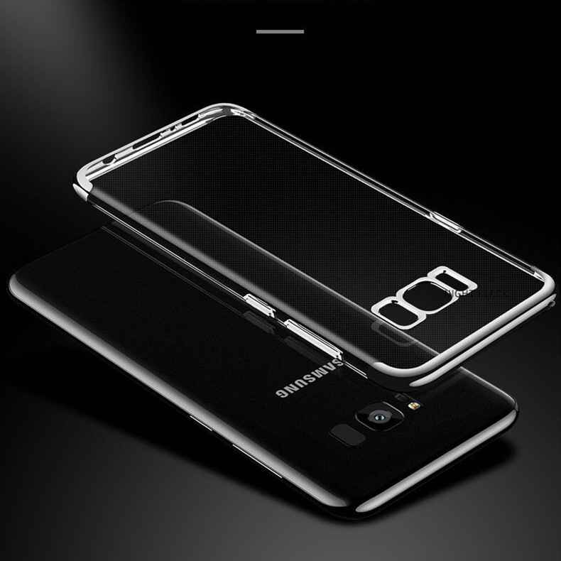 Free ship s8 3in1 Clear TPU Silicone S8 Case for Samsung galaxy S8 plus Thin Slim for galaxy s8 plus Cases Cover S8 Transparent