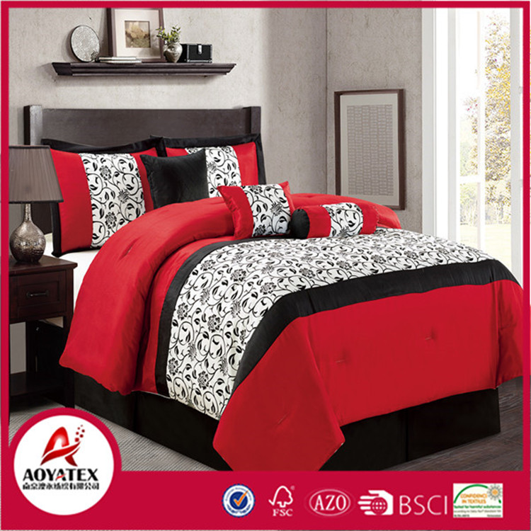 100% polyester printed bedding sets and custom made bedding in china