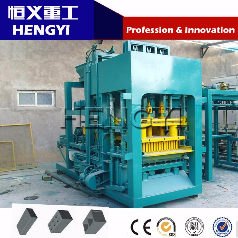 QT(4-15) 2016 New Product full automatic hydraulic brick making machine/clay brick making machine price in india