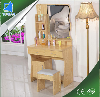 Living Room Furniture Mdf Fancy Dressing Table With Lights