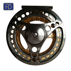 Colourful HYD-WS-0003 machine cut CNC chinese fly fishing reel
