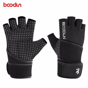 Custom Wrist Straps Protector Gym Exercise Fitness Gloves