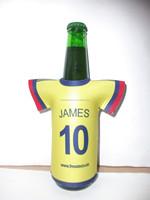 T-shirt bottle cooler/jersey beer holder/bottle sleeve