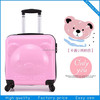 Abs kids suitcase /animal kids trolley school bag/ kids luggage