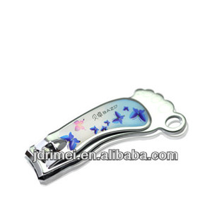 fashion and fancy foot shape nail clipper finger nail clipper