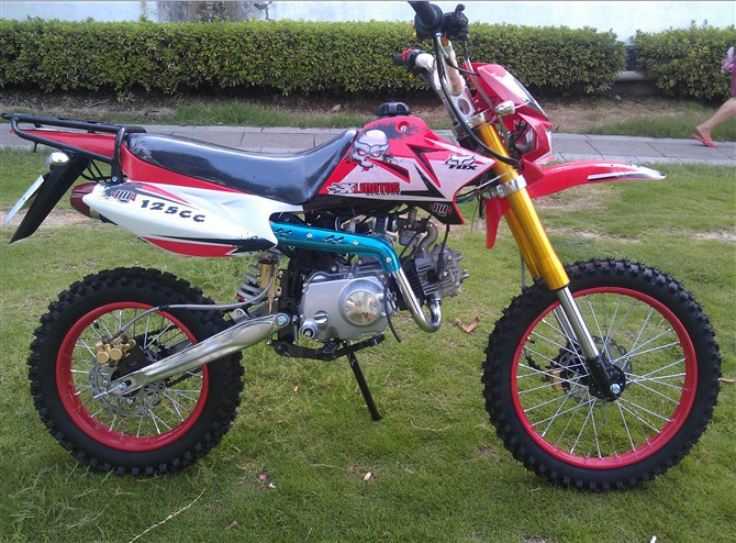 100cc dirt motorcycle