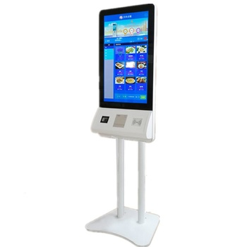Online shop hot sale touch screen payment self-service terminal kiosk self service supermarket check out
