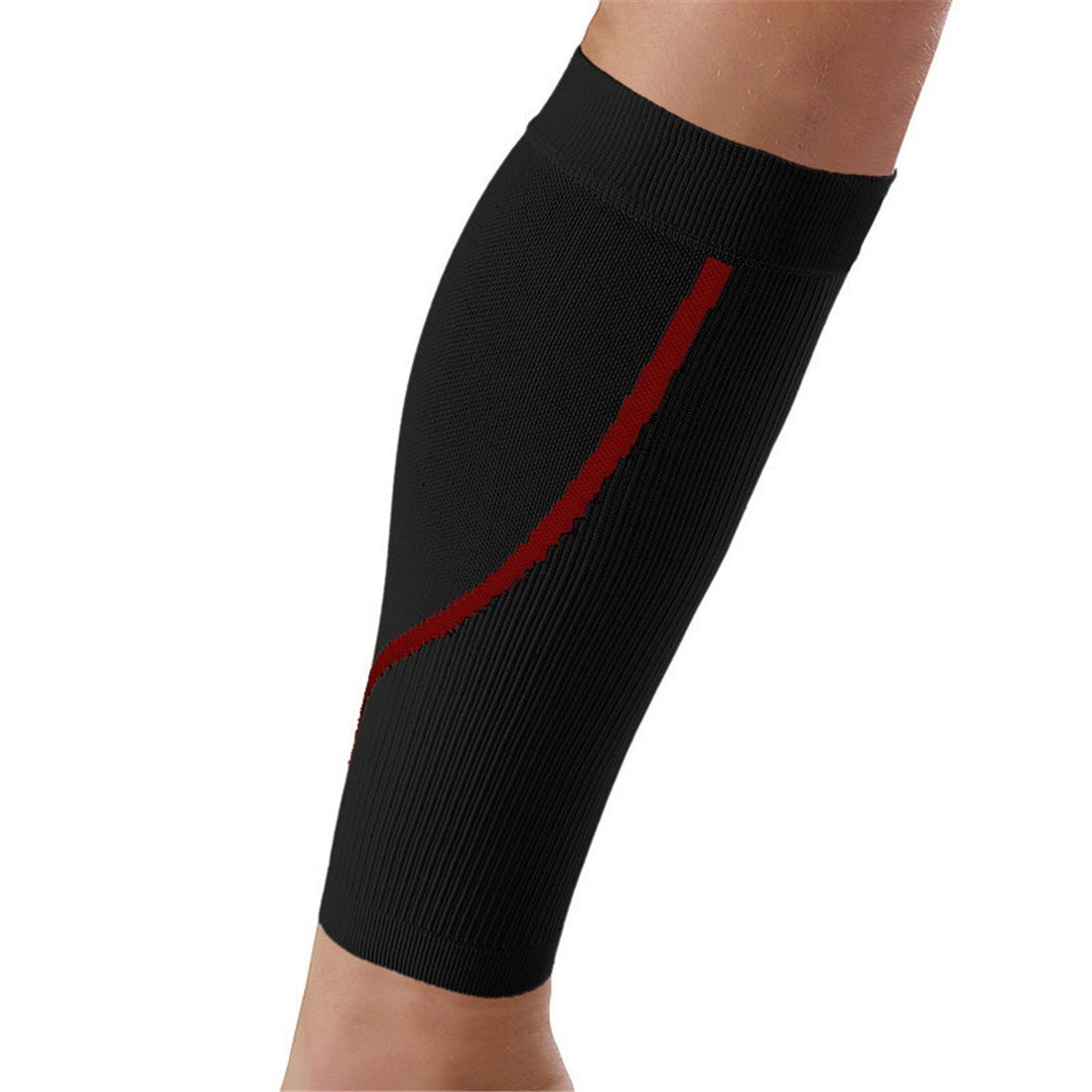 fb3ce6ebce Get Quotations · ChicSoleil Calf & Shin Supports-Tight Calf Compression  Sleeves Guard&Protect Shins Calves Prevent Swelling,