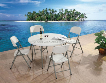 4u0027 Plastic Folding Used Round Banquet Table For Sale, Folding Tables  Wohlesale,plastic