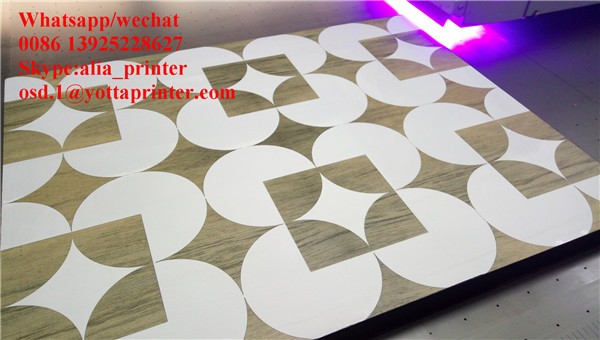 3020 size Flatbed led uv printer for acrylic, plastic, glass,ceramic tile printing with G5 head fast speed